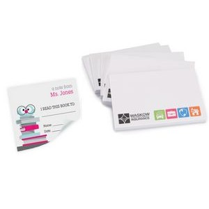 Long Run Full Color 25 Sheet Post-it� Notes (3